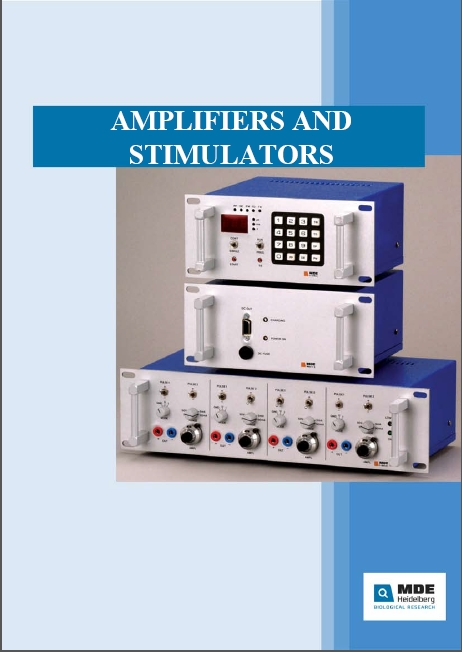 Amplifiers and stimulators cover
